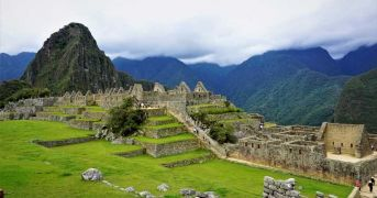 Machu Picchu Sunrise ending the salkantay trek 3D