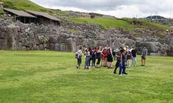 city tour at sacsayhuaman