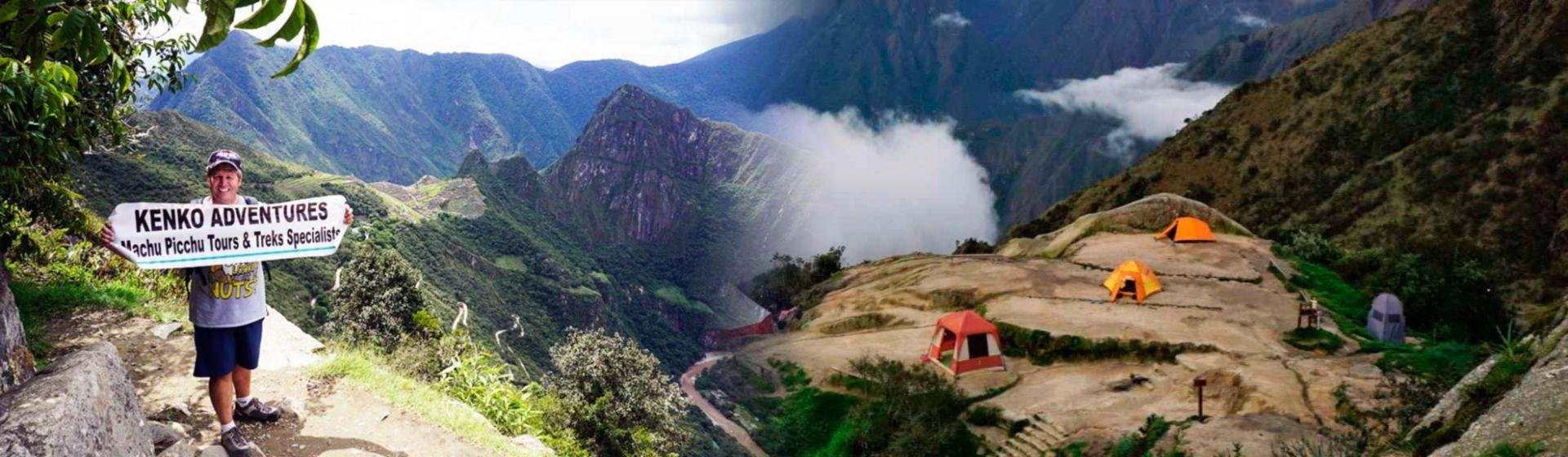 Inca Trail Peru - Machu Picchu and Camping Phuyupatamarca