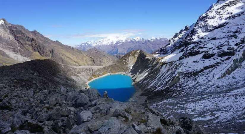 Salkantay lake