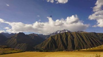andes mountains Machu Picchu 2 Day Hike + Sacred Valley + Sun Gate